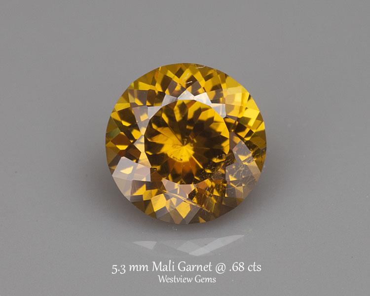 0.68 ct. Garnet