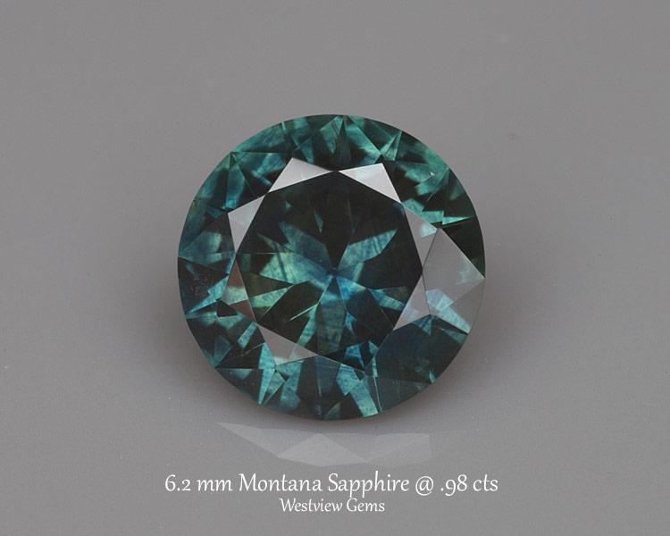 0.98 ct. Sapphire